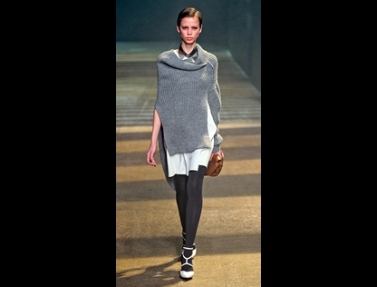 Sweaters upside-down and backwards by Phillip Lim